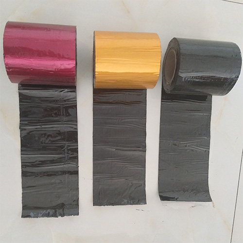 Gold/red/blue/green waterproof bitumen tape for house leakage stop repairing